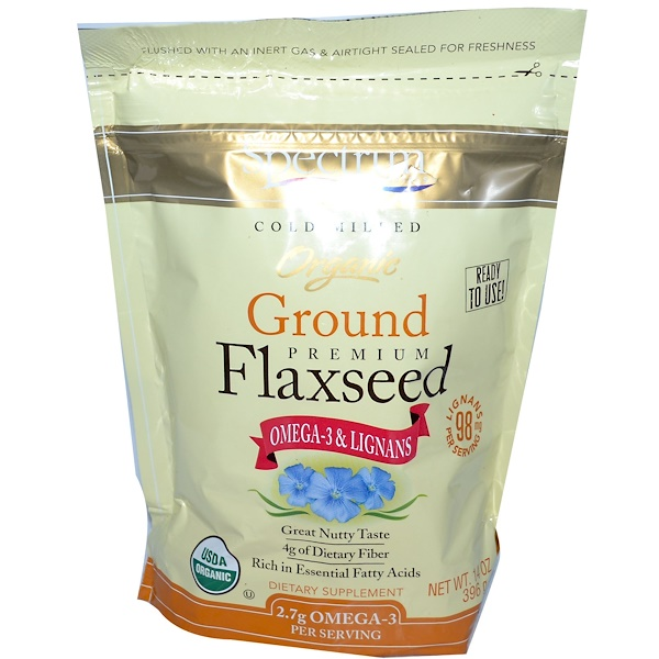 Organic Ground Premium Flaxseed, 14 oz (396 ج)