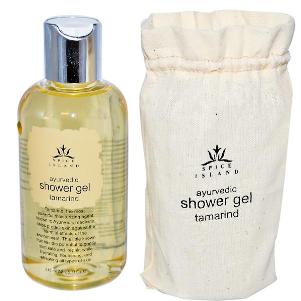 Spice Island, Ayurvedic Shower Gel, Tamarind, 7.2 fl oz (215 ml) (Discontinued Item)