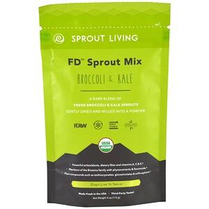 Спроут Ливинг, FD Sprout Mix, Broccoli & Kale, 4 oz (113 g) отзывы покупателей