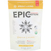 Sprout Living, エピック植物性プロテイン、バニラ味、454g