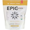 Sprout Living, Epic Plant-Based Protein, Vanilla Lucuma, 2.2 lb (1,000 g)