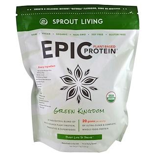 Sprout Living, بروتين ملحمي، المملكة الخضراء، 1 كج (1000 ج)