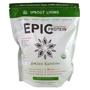 Спроут Ливинг, Epic Protein, Green Kingdom, 1 kg (1,000 g) отзывы