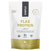 Sprout Living, Simple Organic Flax Protein, Unflavored, 1 lb (454 g)