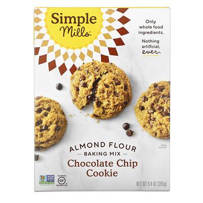 Simple Mills Almond Flour Baking Mix, Chocolate Chip Cookie, 9.4 oz (265 g)