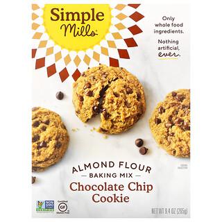 Simple Mills,  杏仁粉烘焙混合物,巧克力片曲奇,9.4 盎司(265 克)