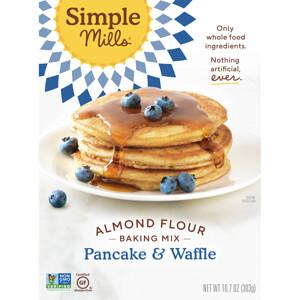 Simple Mills, Naturally Gluten-Free, Almond Flour Mix, Pancake & Waffle, 10.7 oz (303 g) отзывы