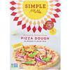 Simple Mills, Naturally Gluten-Free, Almond Flour Mix, Pizza Dough, 9.8 oz (277 g)