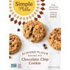 Simple Mills, Naturalmente sin gluten, galletas crujientes, viruta de chocolate, 5.5 oz (156 g)