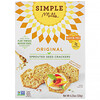 Simple Mills, Sprouted Seed Crackers, Original, 4.25 oz (120 g)