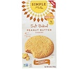 Simple Mills, Naturally Gluten-Free, Soft Baked Cookies, Peanut Butter, 6.8 oz (192 g)
