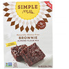 Simple Mills, Naturally Gluten-Free, Almond Flour Mix, Brownie, 12.9 oz (368 g)