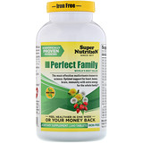 Отзывы о Super Nutrition, Мультивитамины «Идеальная семья», без железа, 240 таблеток