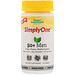 SimplyOne, мультивитаминная добавка тройного действия для мужчин старше 50 лет, без железа, 30 таблеток - изображение