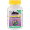 Super Nutrition, Perfect Kids Complete Multi-Vitamin, Wild-Berry, 60 Vegetarian Chewable Tablets
