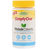 SimplyOne, Think Clearly, Triple Power Brain Support, 90 Tablets