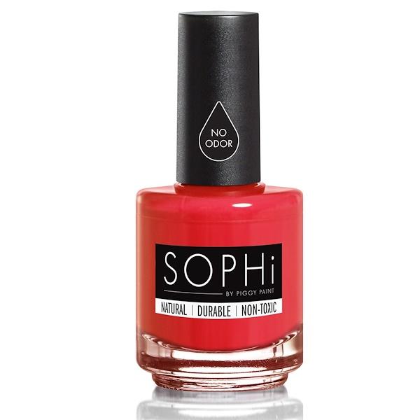 SOPHi by Piggy Paint, Nail Polish, Red Bottom Stilettos, 0.5 fl oz (15 ml) (Discontinued Item)