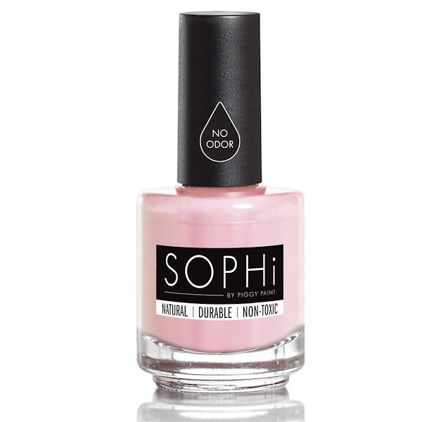 SOPHi by Piggy Paint, Nail Polish, Morning Kisses, 0.5 fl oz (15 ml) (Discontinued Item)