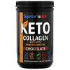 Superior Source, Keto Collagen Powder with MCTs, Chocolate, 14 oz (397 g)