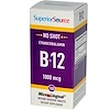 Superior Source, Cyanocobalamin B-12, 1000 mcg, 100 MicroLingual Instant Dissolve Tablets