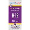 Superior Source, マイクロリンガル(MicroLingual)、シアノコバラミン B12、1000 mcg、100 錠