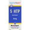 Superior Source, 5-HTP (5-гидрокситриптофан), 50мг, 60быстрорастворимых таблеток MicroLingual