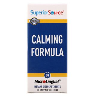 Superior Source, Calming Formula, 60 Instant Dissolve Tablets