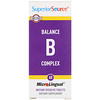 Superior Source, マイクロリンガル(MicroLingual)、バランス B 複合体、60 錠