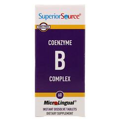 Superior Source, 速溶輔酶複合維生素 B,60 片裝