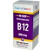 Superior Source, Methylcobalamin B12, 5000 mcg, 60 MicroLingual Instant Dissolve Tablets