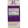 Superior Source, マイクロリンガル, メチルコバラミン B12, 5000 mcg, 60錠