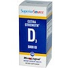 Superior Source, Extra Strength Vitamin D3, 5000 IU, 100 MicroLingual Instant Dissolve Tablets