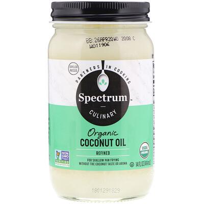 Купить Spectrum Culinary органическое кокосовое масло, рафинированное, 414 мл (14 жидких унций)