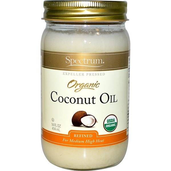Spectrum Naturals, Organic Coconut Oil, 14 fl oz (414 ml)