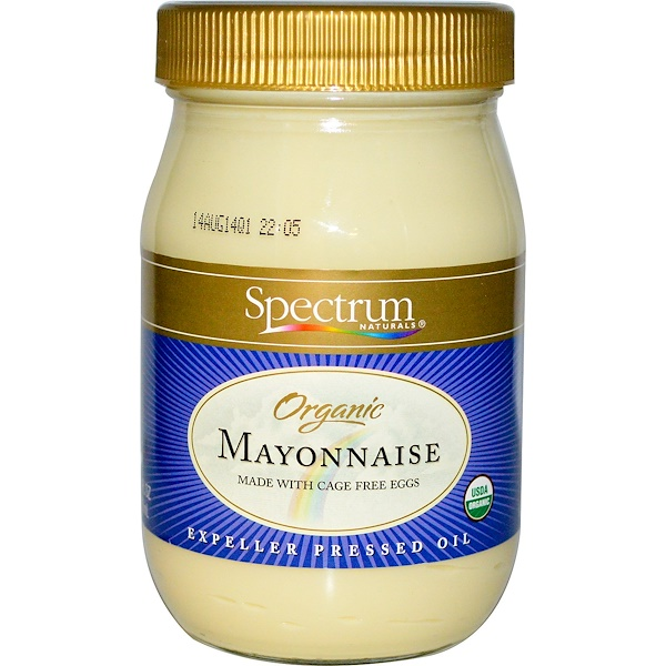 Spectrum Naturals, Organic Mayonnaise, 16 fl oz (473 ml)