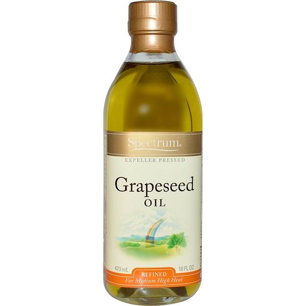 Spectrum Naturals, Grapeseed Oil, 16 fl oz (473 ml)