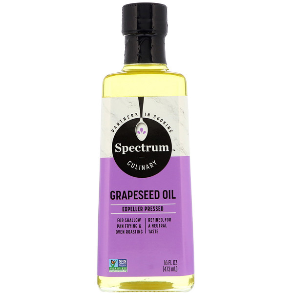Spectrum Culinary, Grapeseed Oil, 16 fl oz (473 ml)