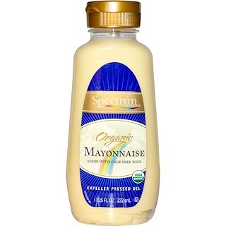 Spectrum Naturals, Organic Mayonnaise, 11.25 fl oz (332 ml)