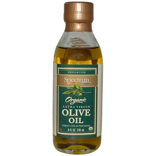 Spectrum Naturals, Organic Extra Virgin Olive Oil, 8 fl oz (236 ml)