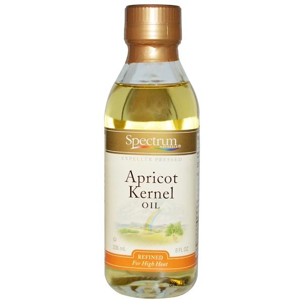 Spectrum Culinary, Apricot Kernel Oil , 8 fl oz (236 ml) (Discontinued Item)