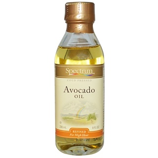 Spectrum Naturals, Avocado Oil, Refined, 8 fl oz (236 ml)