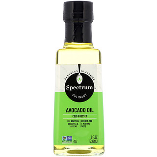 Spectrum Culinary, Avocado Oil, Cold Pressed, 8 fl oz (236 ml)