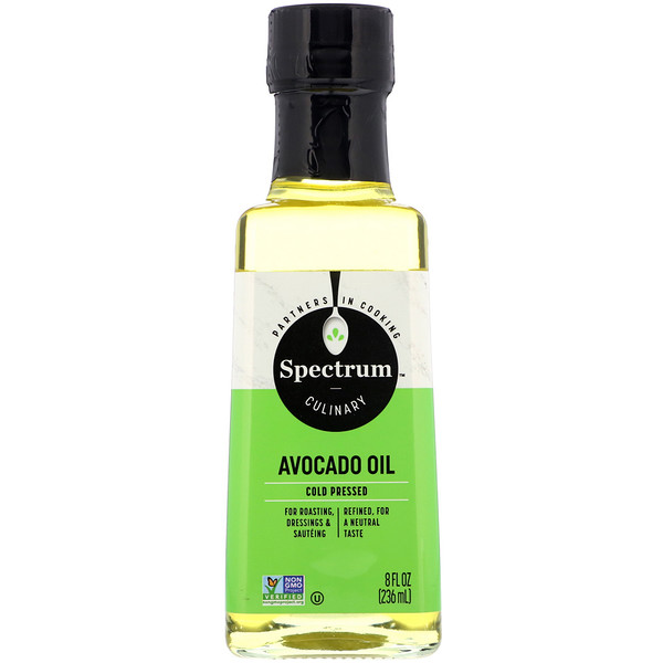 Avocado Oil, Cold Pressed, 8 fl oz (236 ml)
