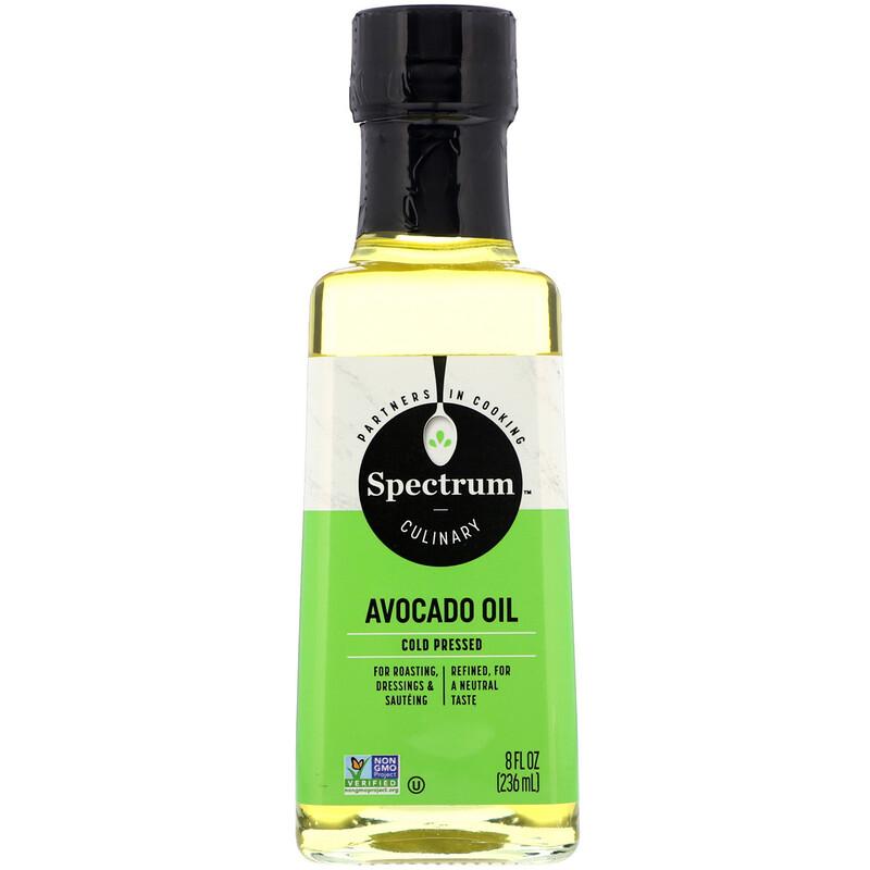 Avocado Oil, Cold Pressed, 8 fl oz (236 ml)
