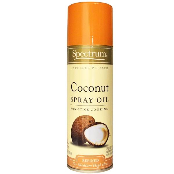 Spectrum Culinary, Coconut Spray Oil, 6 oz (170 g) (Discontinued Item)