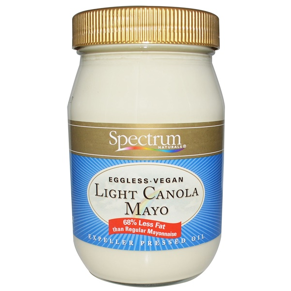Spectrum Culinary, Light Canola Mayo, 16 fl oz (473 ml) (Discontinued Item)