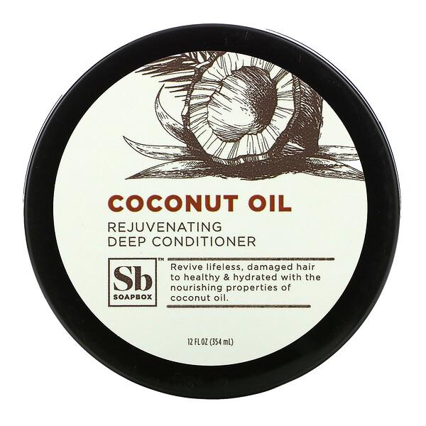 Rejuvenating Deep Conditioner, Coconut Oil, 12 fl oz (354 ml)