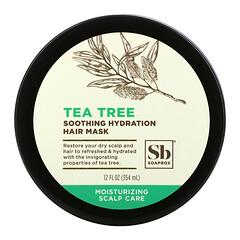 Soapbox, 舒緩保濕髮膜,茶樹,12 液量盎司(354 毫升)