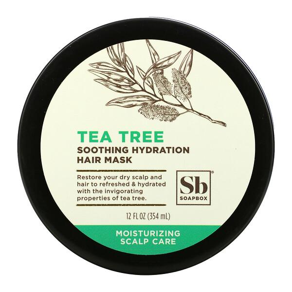 Soothing Hydration Hair Mask, Tea Tree, 12 fl oz (354 ml)
