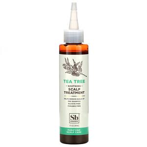 Soapbox, Soothing Scalp Treatment, Tea Tree, 5 fl oz (147 ml)'